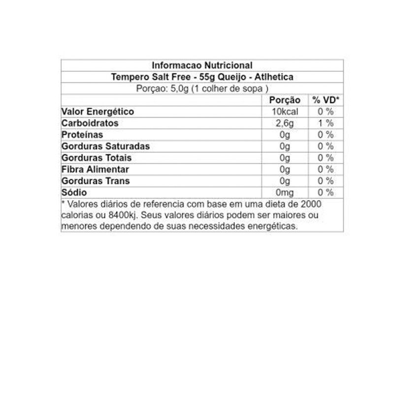 Tempero Salt Free - Atlhetica Nutrition