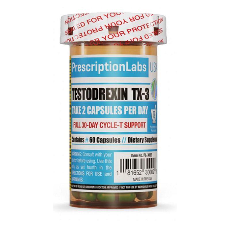 Testodrexin TX-3 - 60 Cápsulas - Prescription Labs
