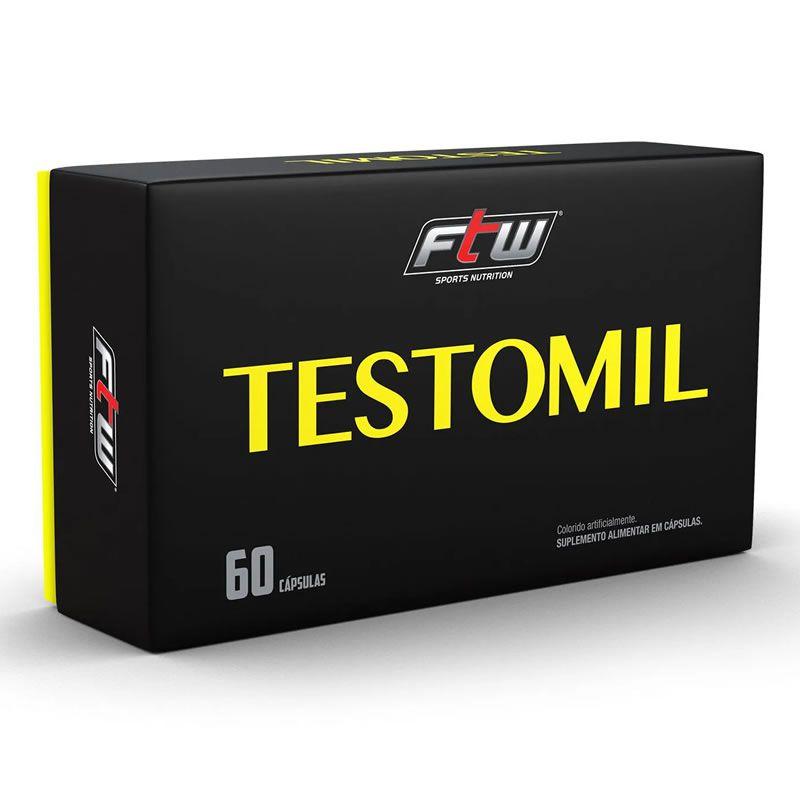 Testomil 60 Cápsulas - FTW