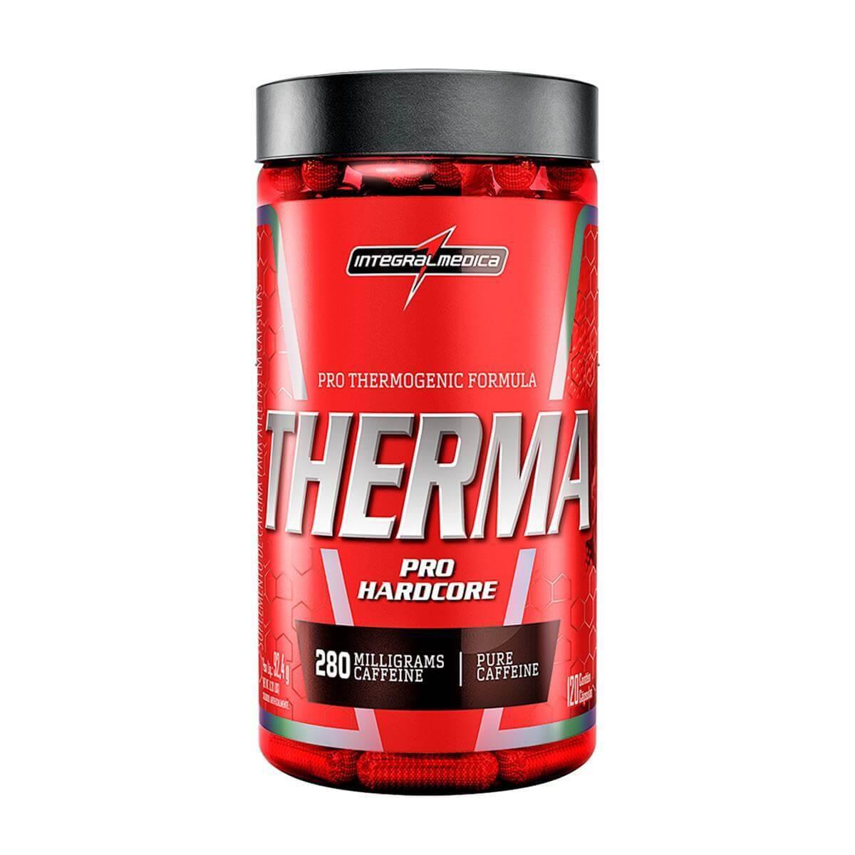 Therma Pro Hardcore 120 Cápsulas - Integral Médica