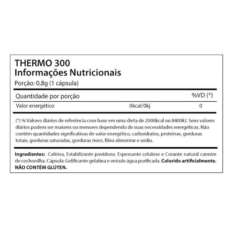 Thermo 300 - 60 Cápsulas - Smart Life