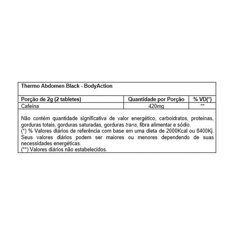 Thermo Abdomen - 60 cápsulas - Body Action
