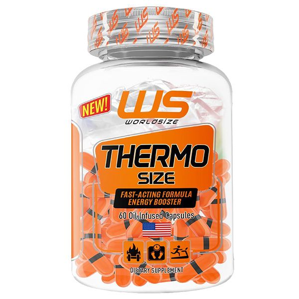 Thermo Size 60 Cápsulas - World Size