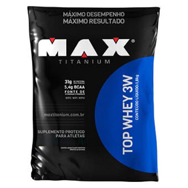 Top Whey 3W 1,8 Kg - Max Titanium