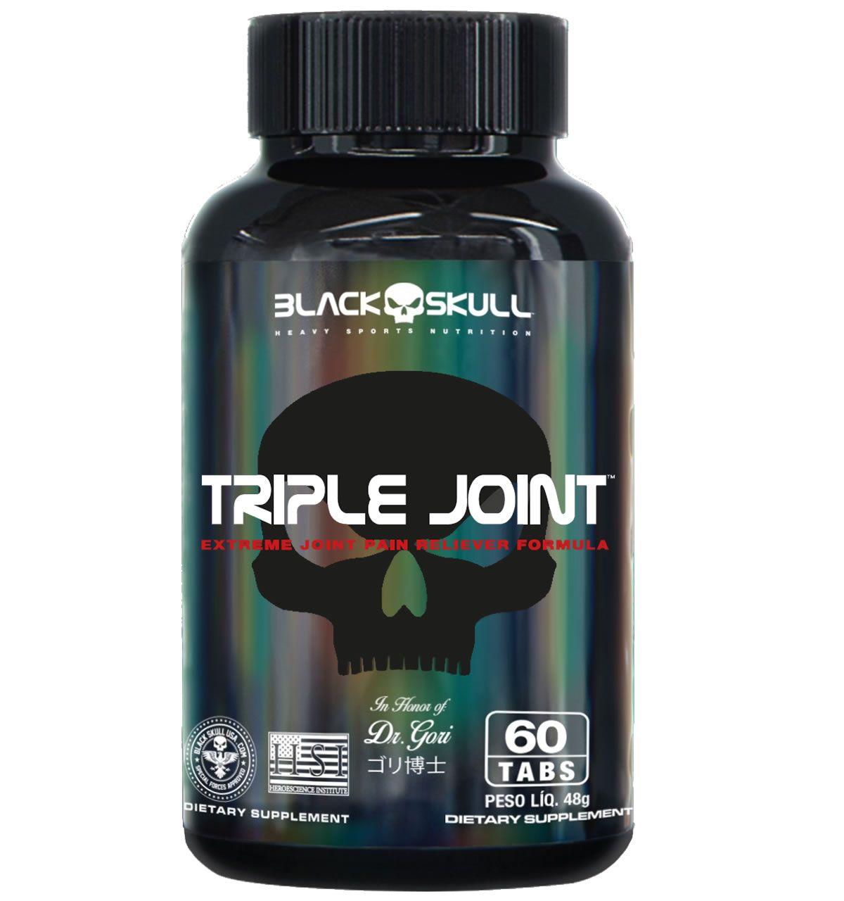 Triple Joint 60 Cápsulas - Black Skull USA
