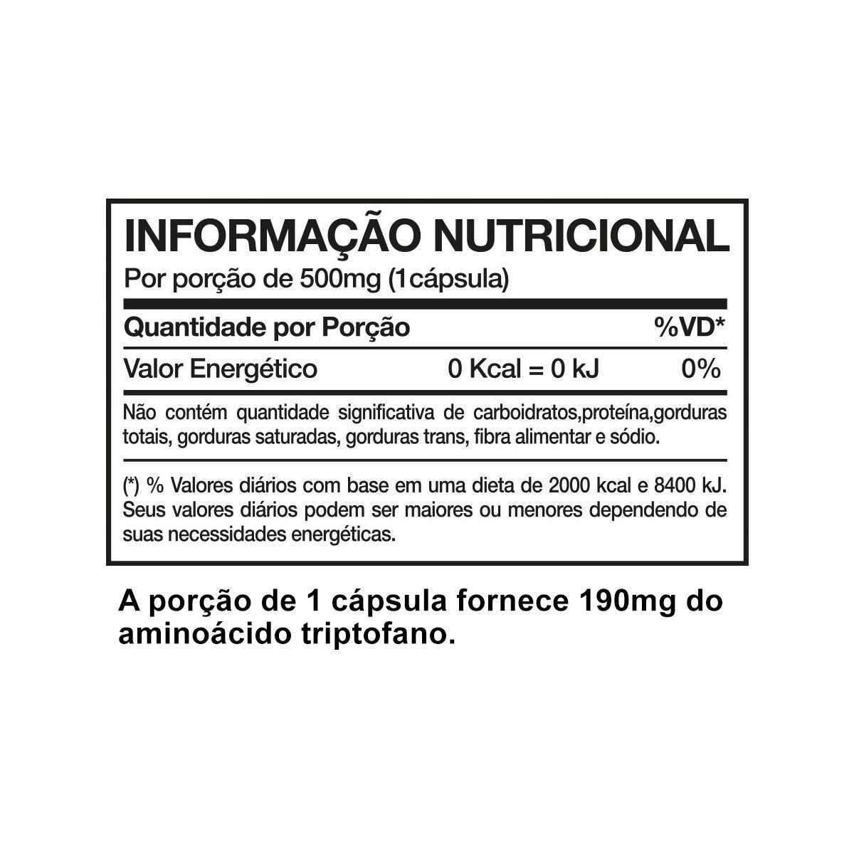 Triptozen 60 Cápsulas - Nutrends