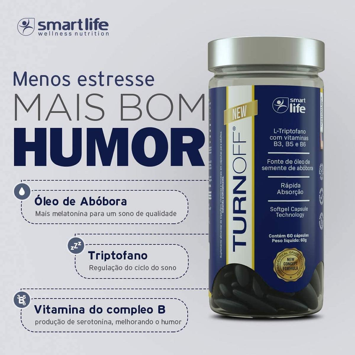 Turn Off 60 Cáps - Smart Life