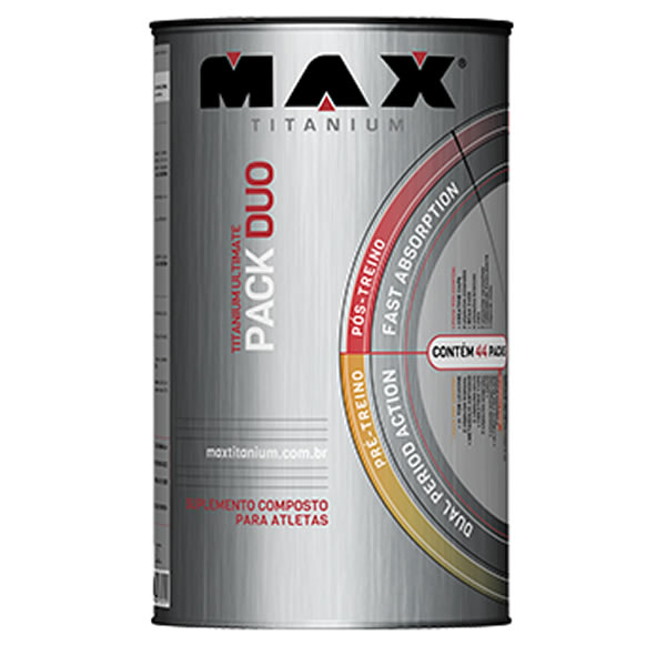Ultimate Pack DUO 44 Packs - Max Titanium