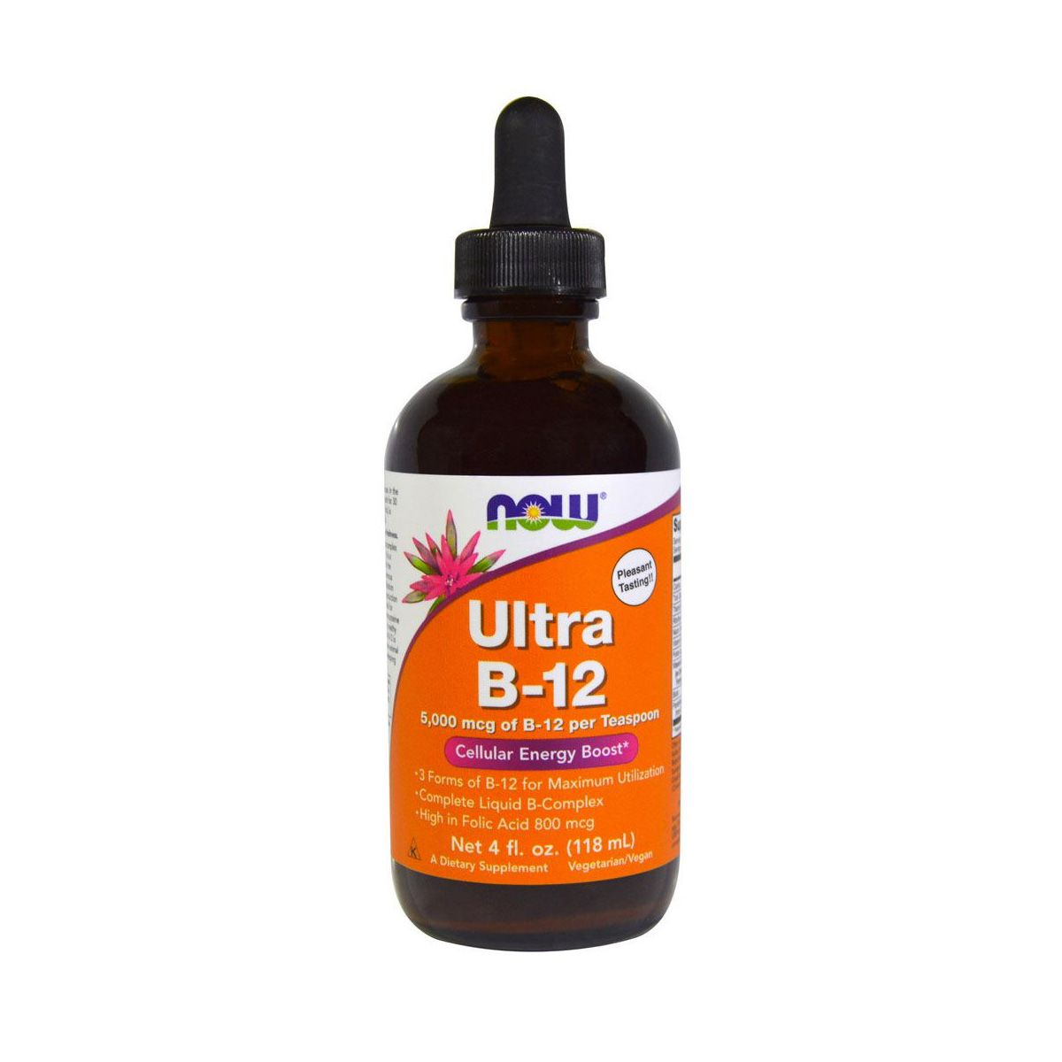 Ultra B12 Liquid  5000mg - 120 ML - Now