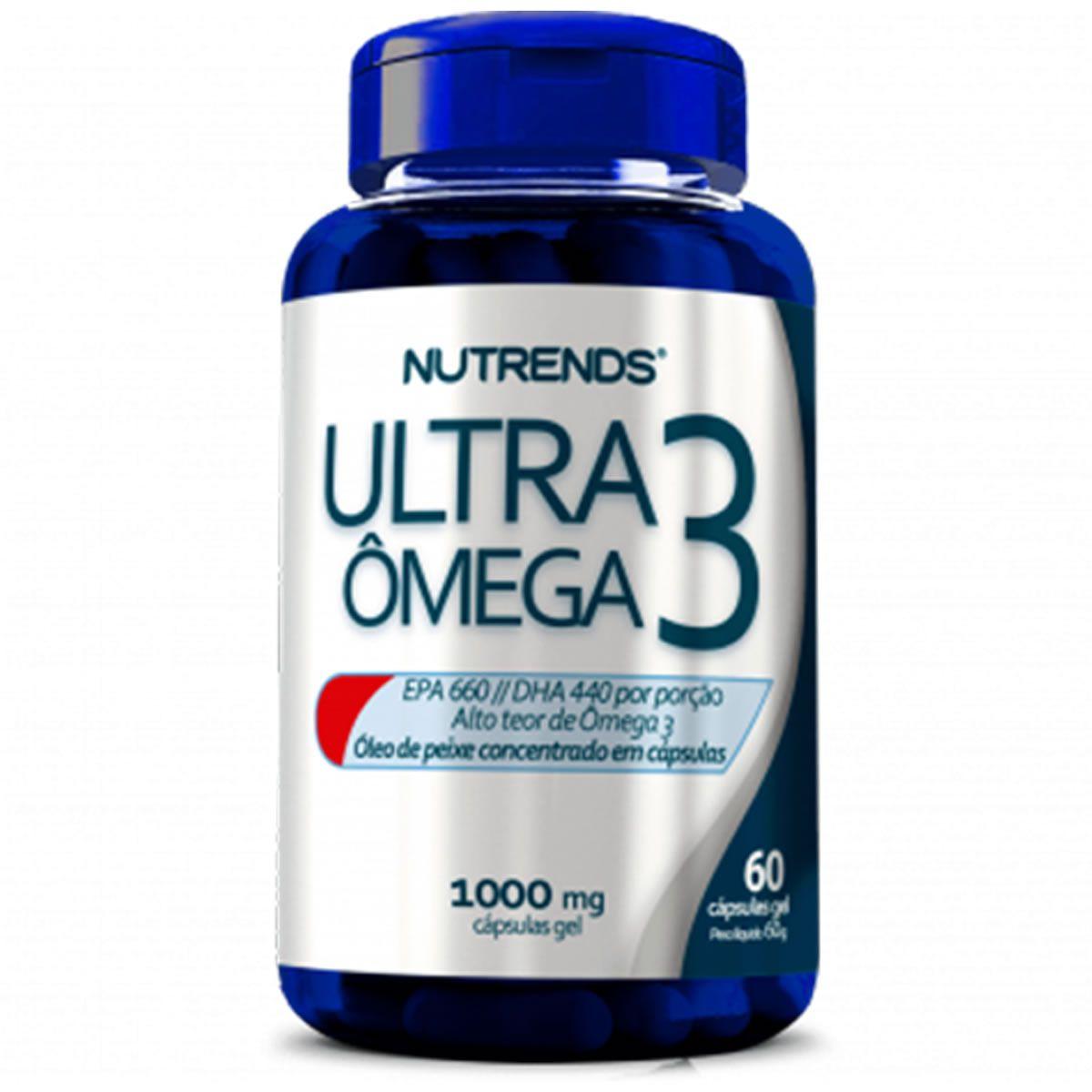 Ultra Omega 3 60 Cápsulas - Nutrends