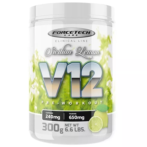 V12 Pre Workout 300g - Forcetech Labs