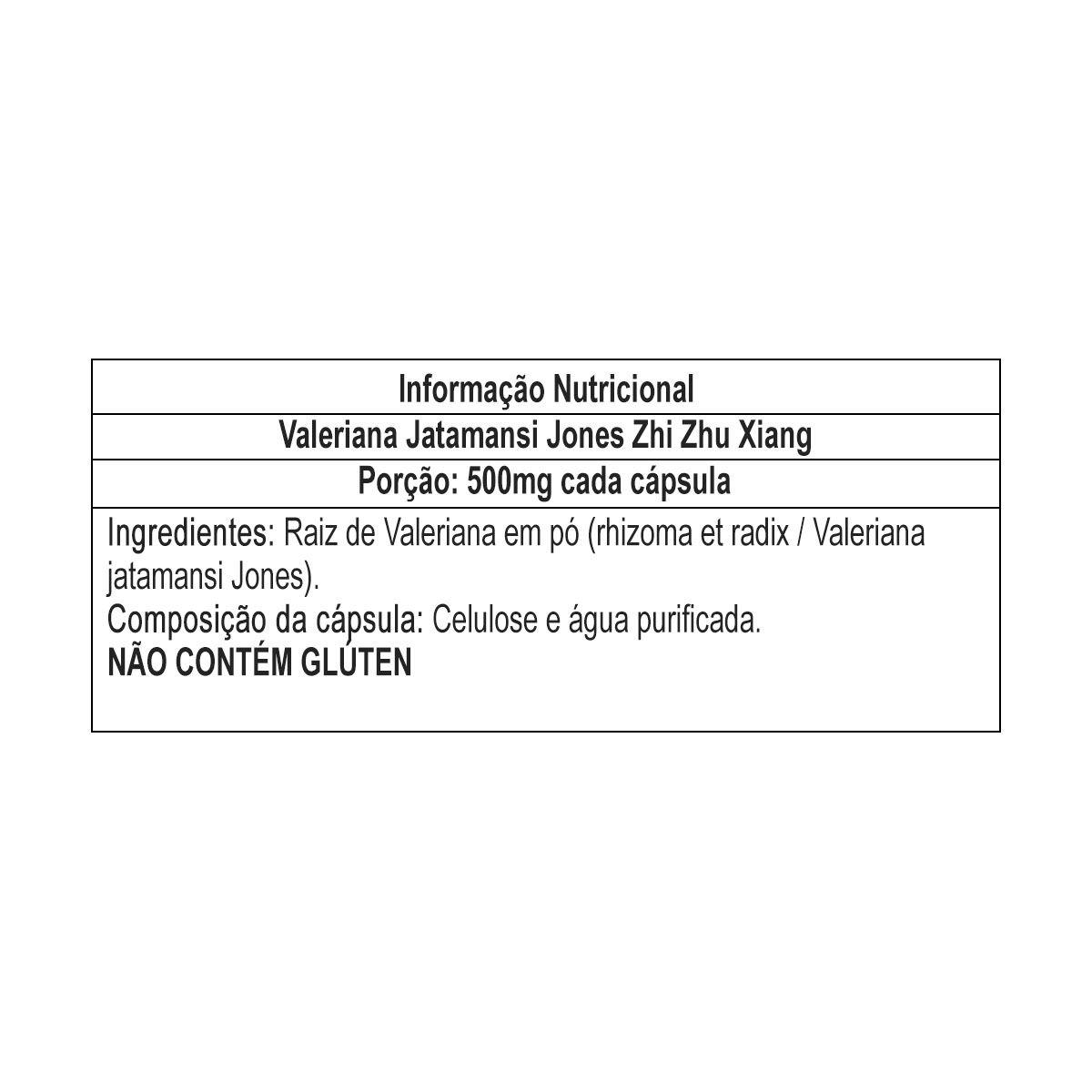 Valeriana Jatamansi Jones 60 Cápsulas - Nutrends