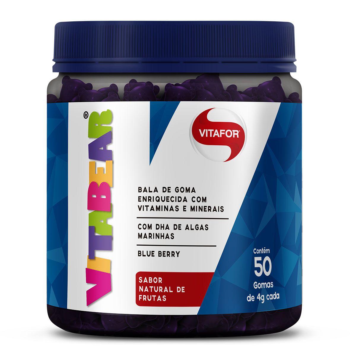 Vita Bear 50 gomas - Vitafor