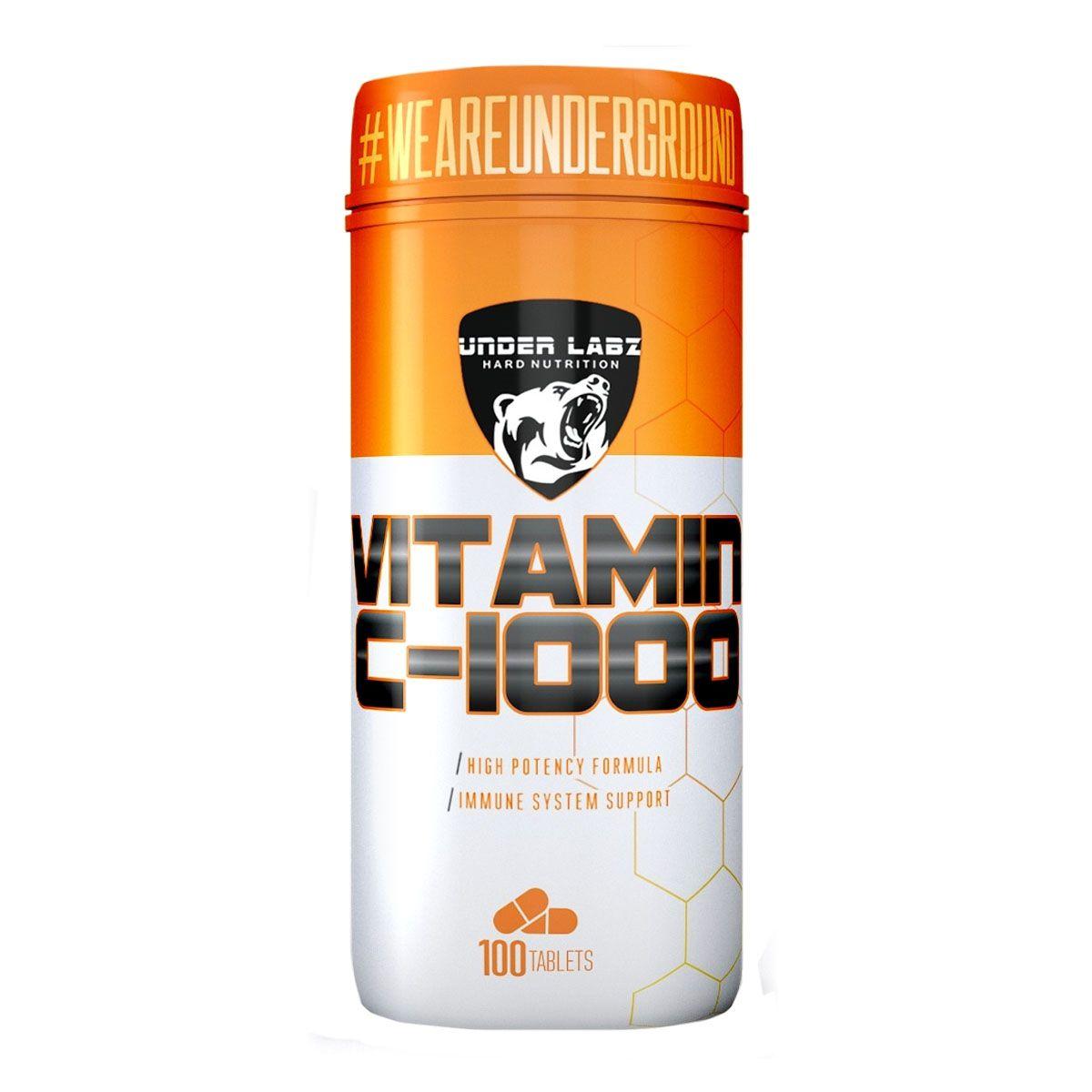 Vitamin C 1000 120 Tabletes - Under Labz