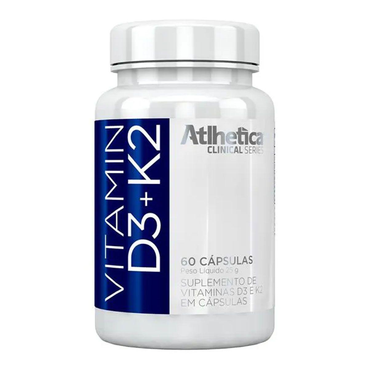 Vitamin D3 + K2 60 Cápsulas - Alhetica Nutrition