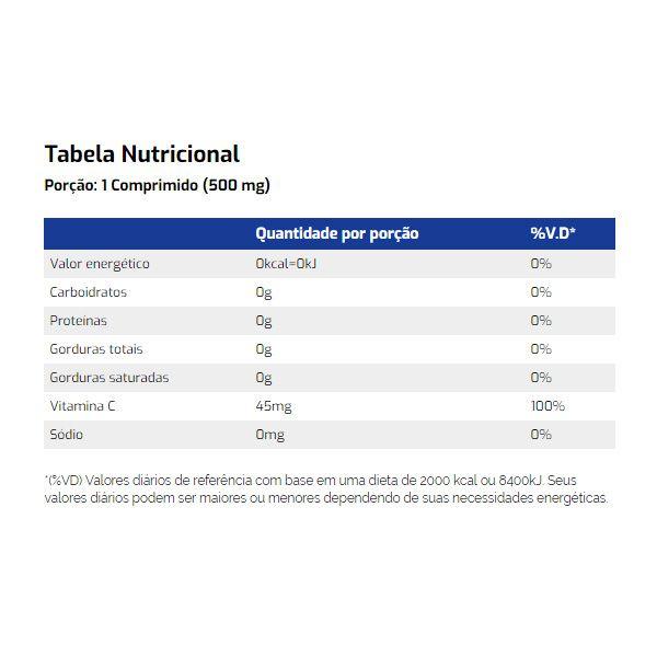 Vitamina C 60 Cápsulas - Vitamin Life