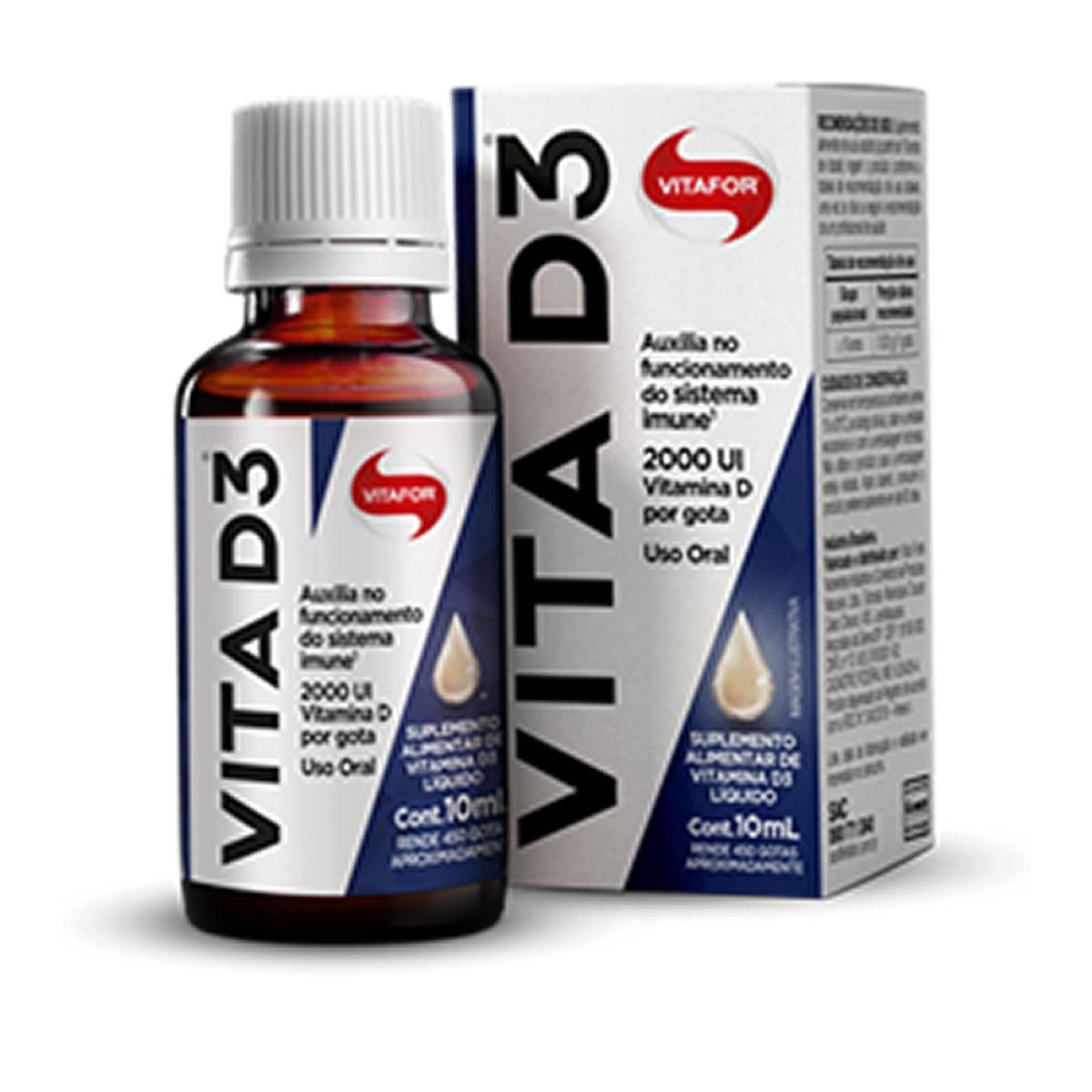 Vitamina D3 10ml - VItafor