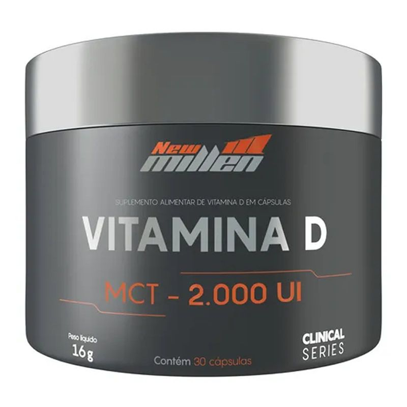 Vitamina D MCT 30 Cápsulas - New Millen