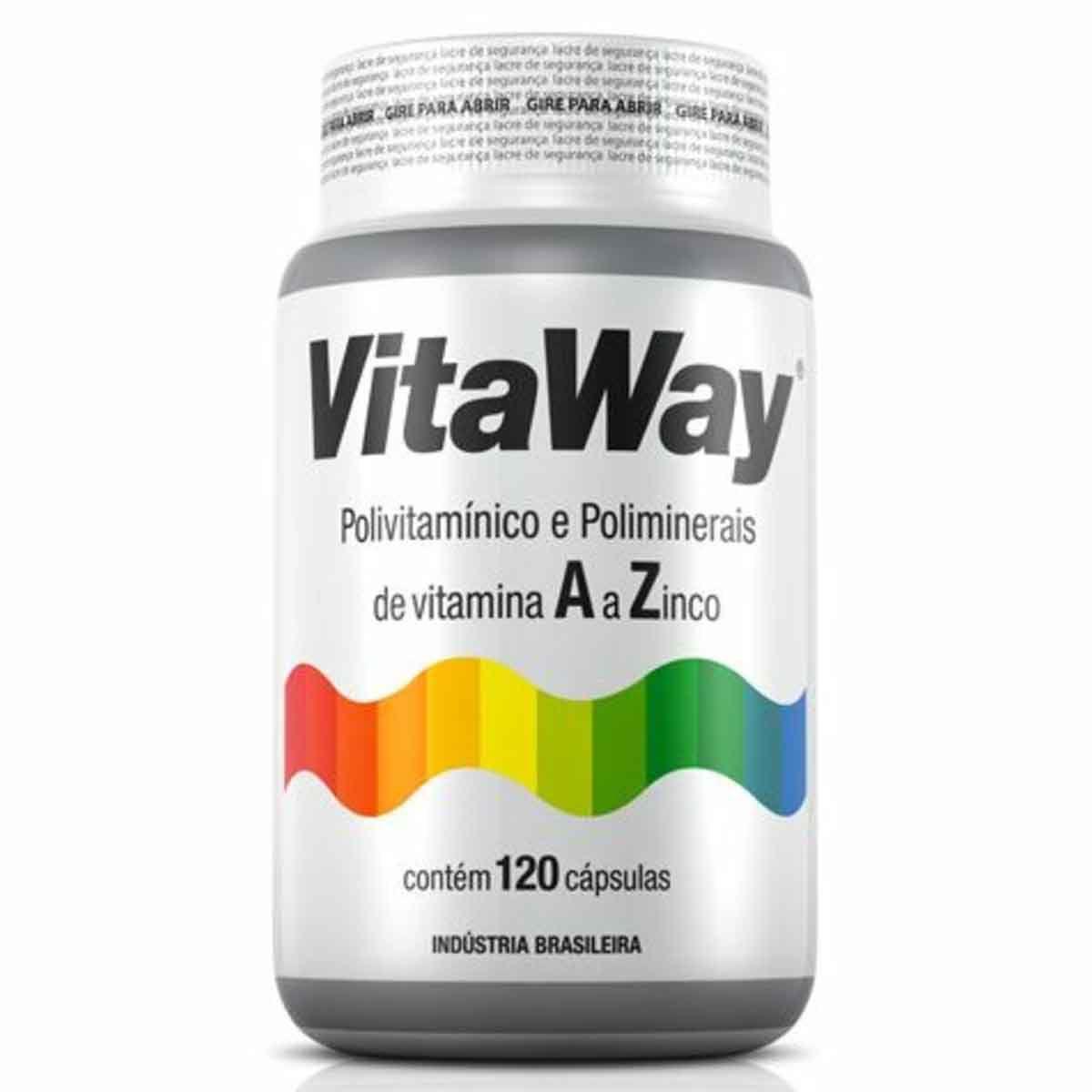 Vitaway 120 Cápsulas - Fitoway