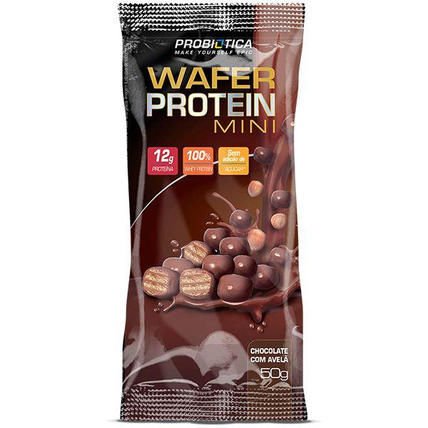 Wafer Protein Mini 12 Unidades - Probiótica