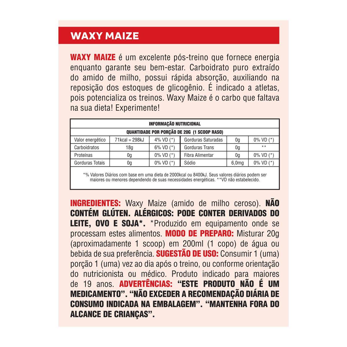 Waxy Mayze Pure 1kg - Body Action