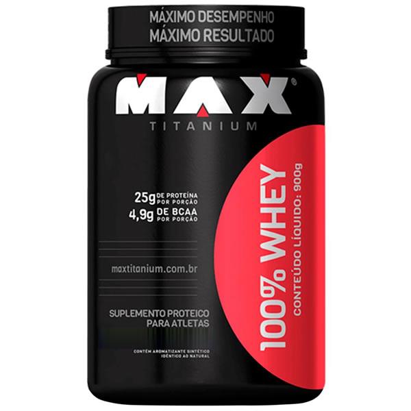Whey 100% 900 g - Max Titanium