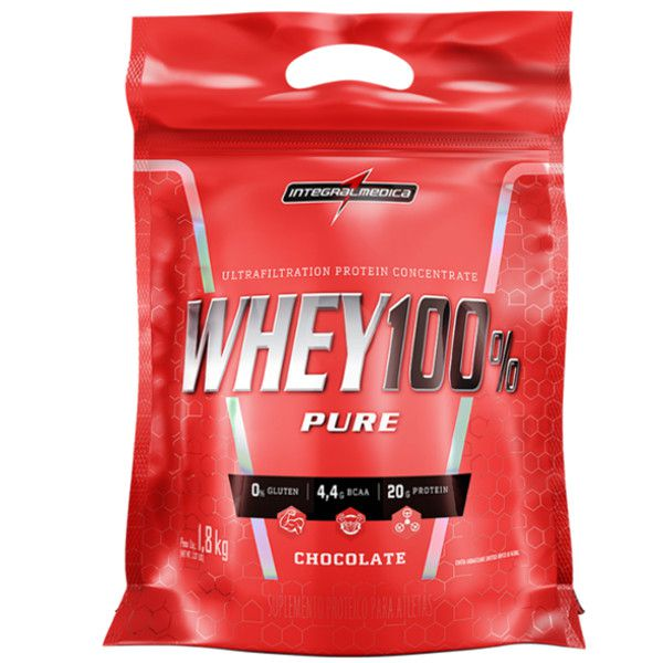 Whey 100% Pure - 1,8 Kg - IntegralMédica