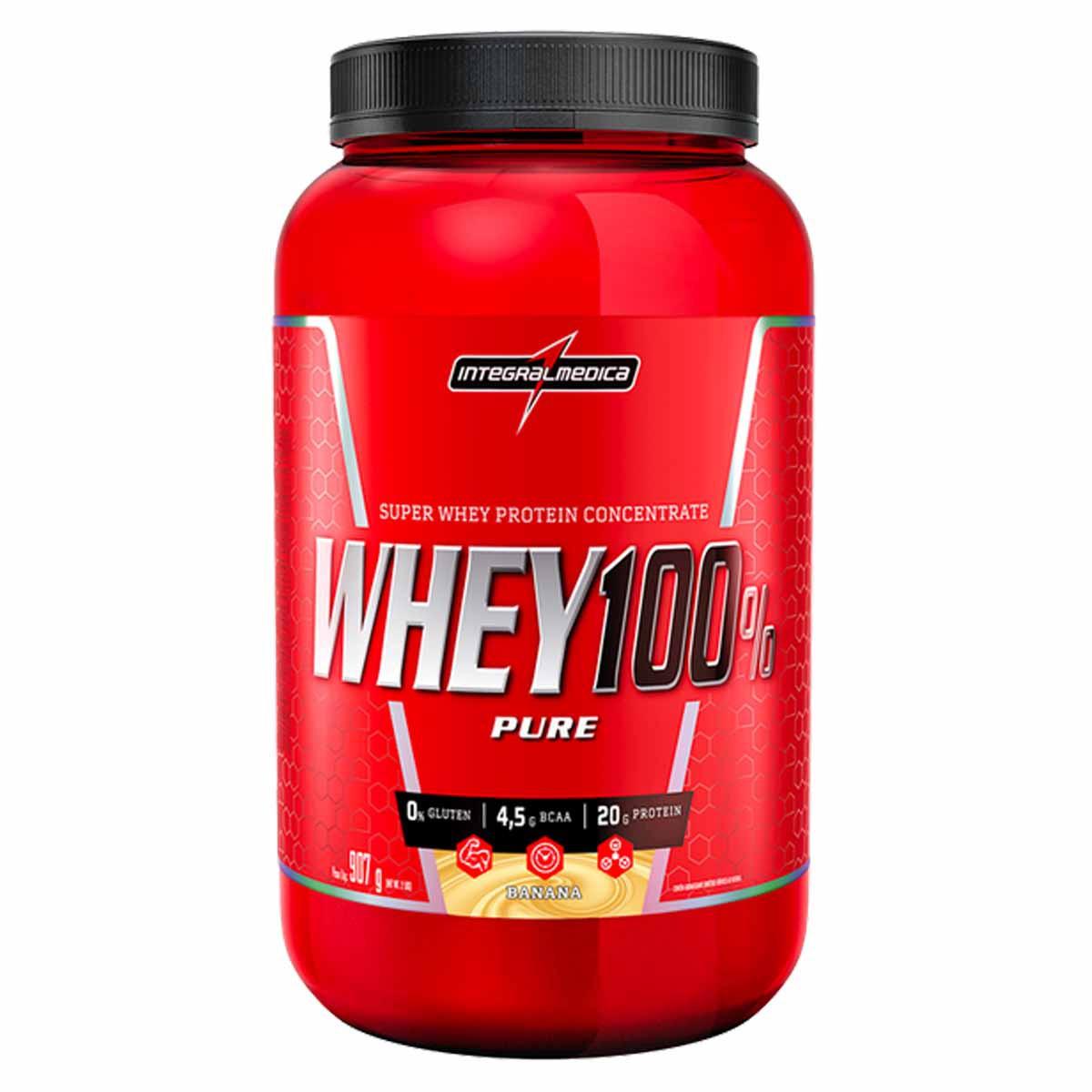 Whey 100% Pure 900g - Integral Médica
