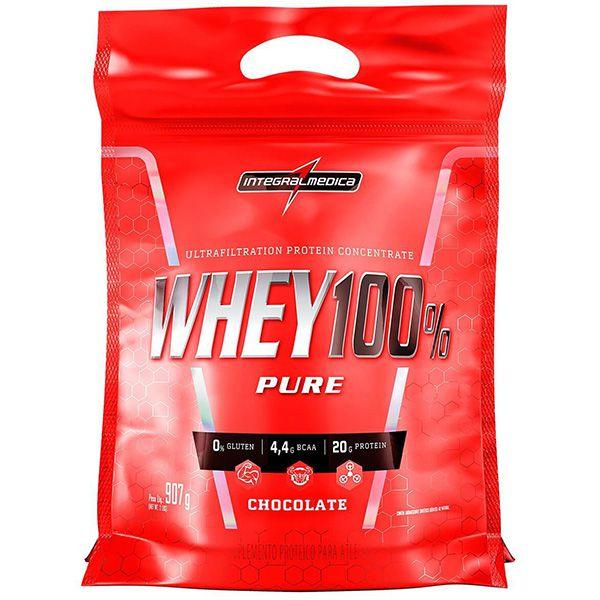 Whey 100% Pure - 907g - Integral Médica