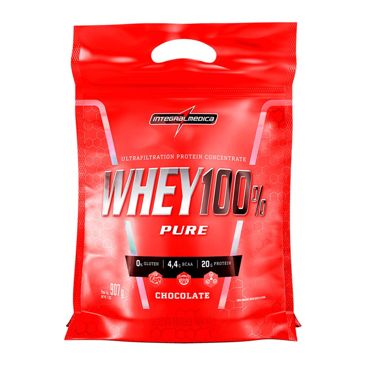 Whey 100% Pure 907g - Integral Médica