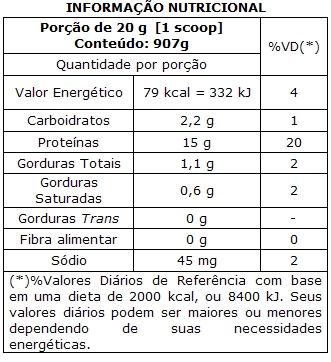 Whey 3W 900 g - Integral Médica