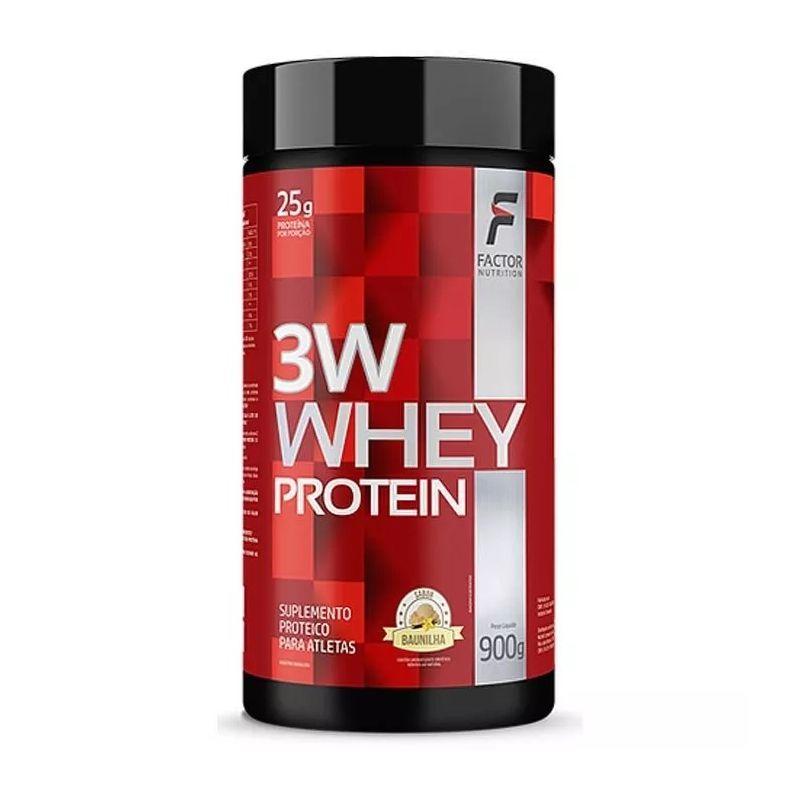 Whey 3w - 900g - Factor Nutrition