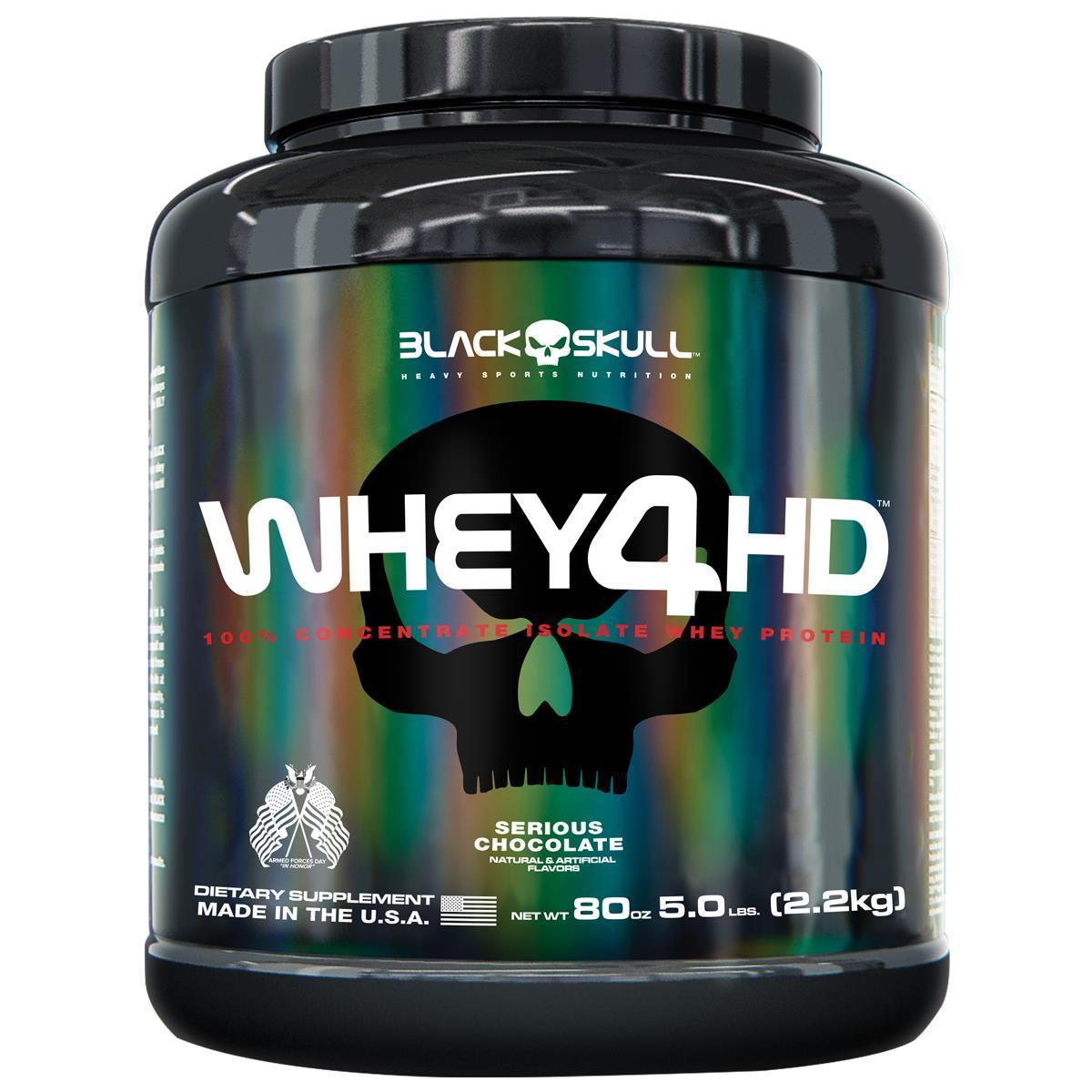 Whey 4HD 2,2 Kg - Black Skull