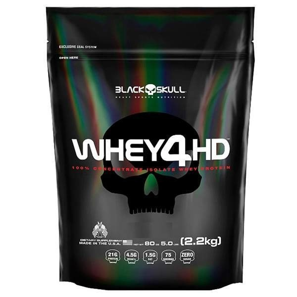 Whey 4hd (SC) 2,2 kg - Black Skull
