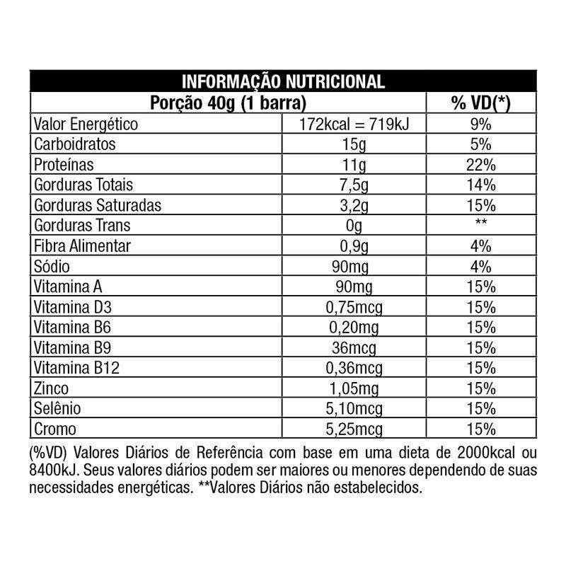 Whey Grego Bar - 12 Unidades - Nutrata