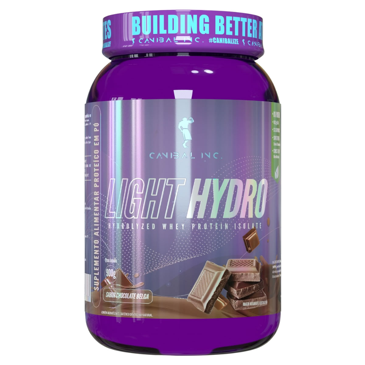 Whey Light Hydro 900g - CANIBAL INC