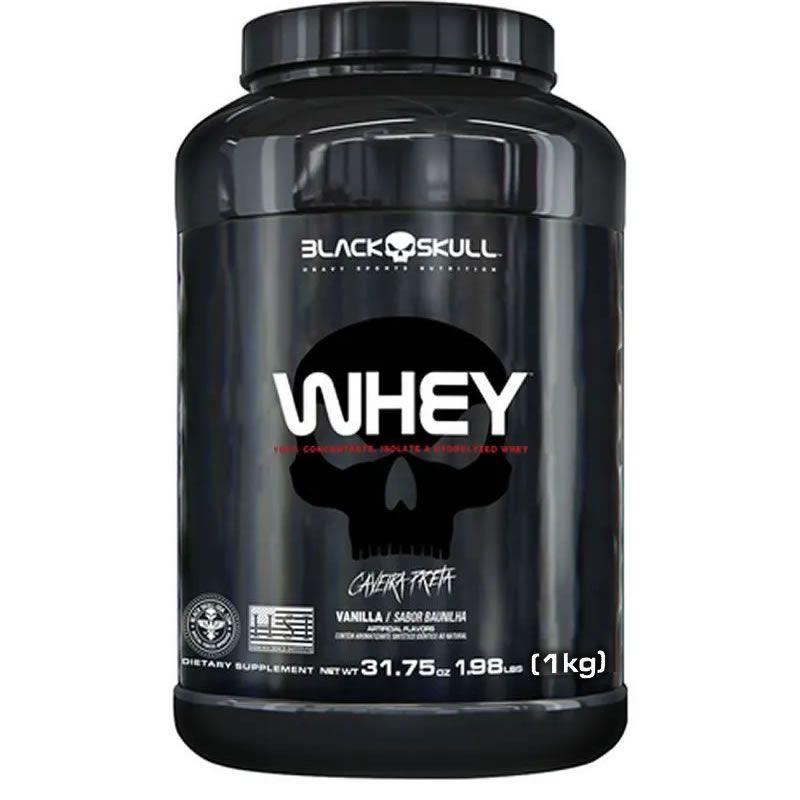 Whey Protein 1kg - Black Skull