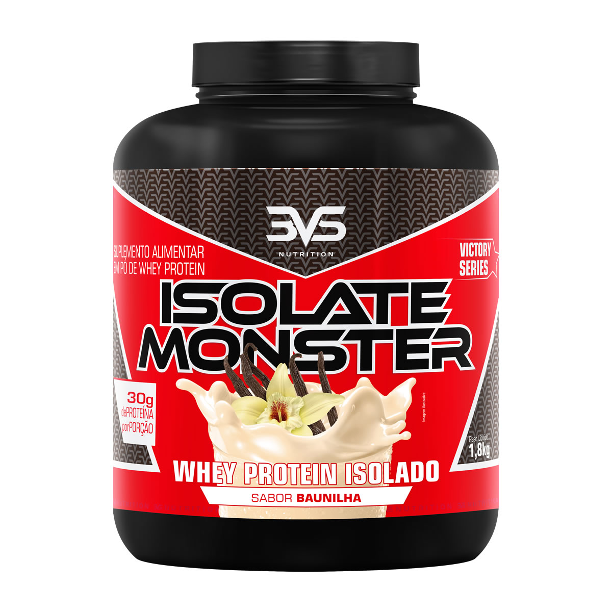 Whey Protein Isolate Monster 1,8KG - 3VS Nutrition