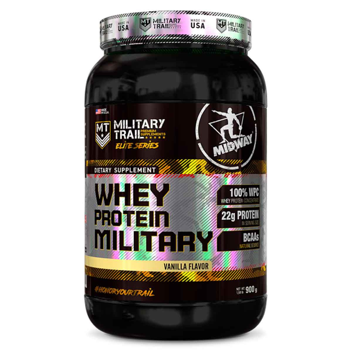 Whey Protein Military 900g - Midway