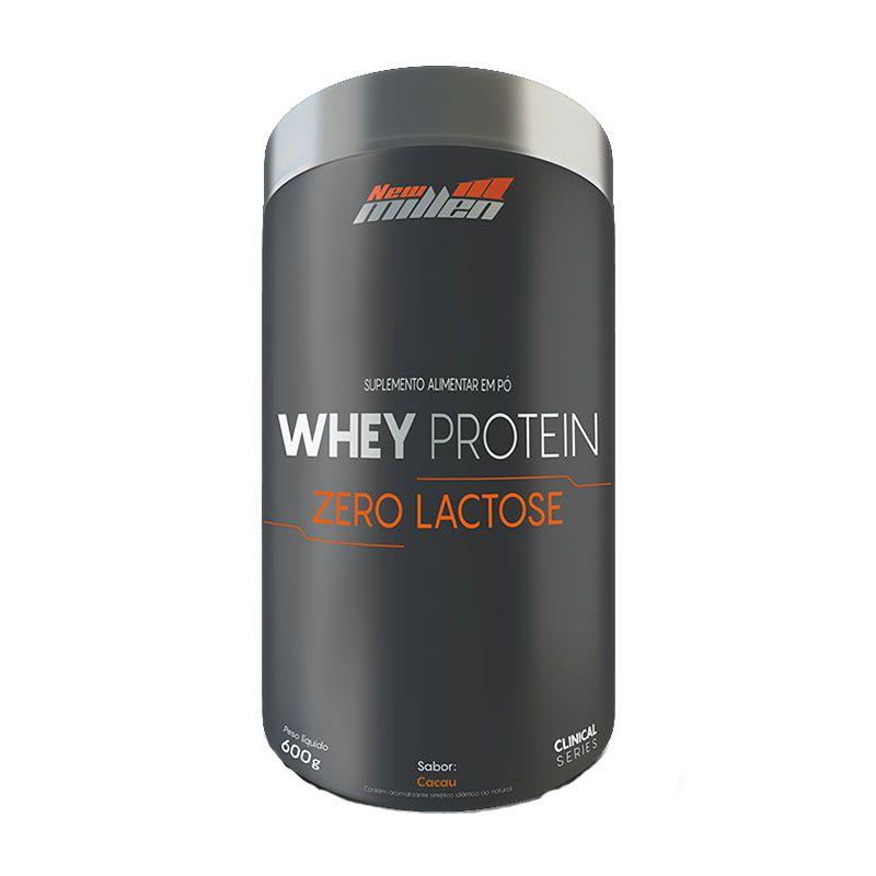 Whey Protein Zero Lactose 600g - New Millen