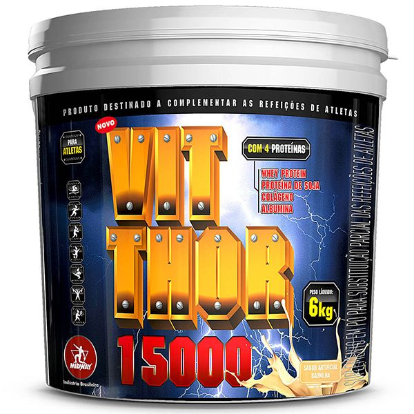 Whey Vit Thor 6kg - Midway
