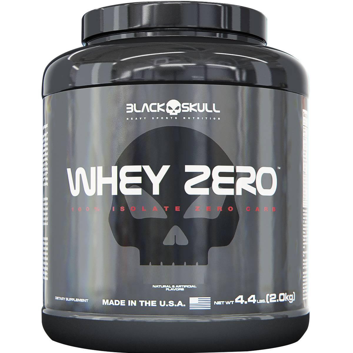 Whey Zero 2 Kg - Black Skull