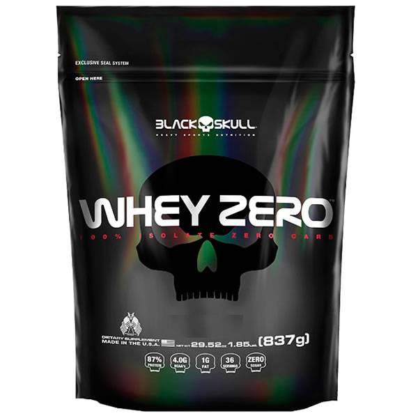 Whey Zero 837 g Refil - Black Skull