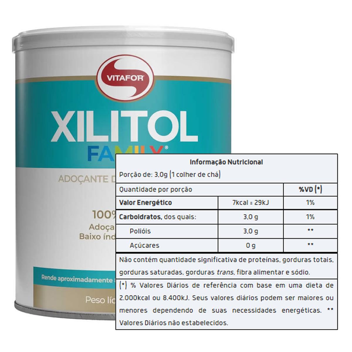 Xilitol Family 250g - Vitafor