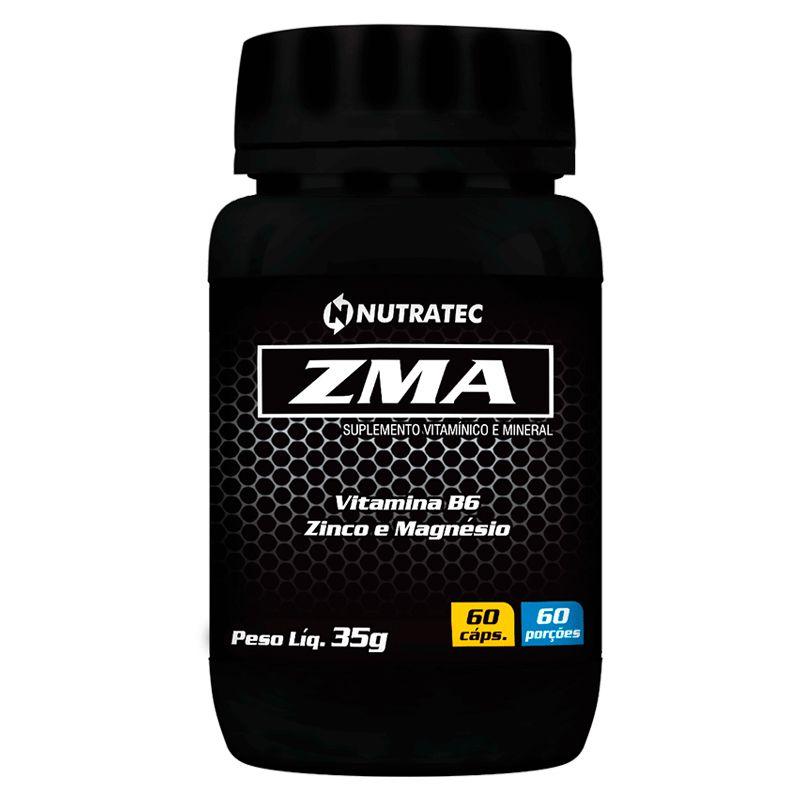 ZMA - 60 Cápsulas - Nutratec
