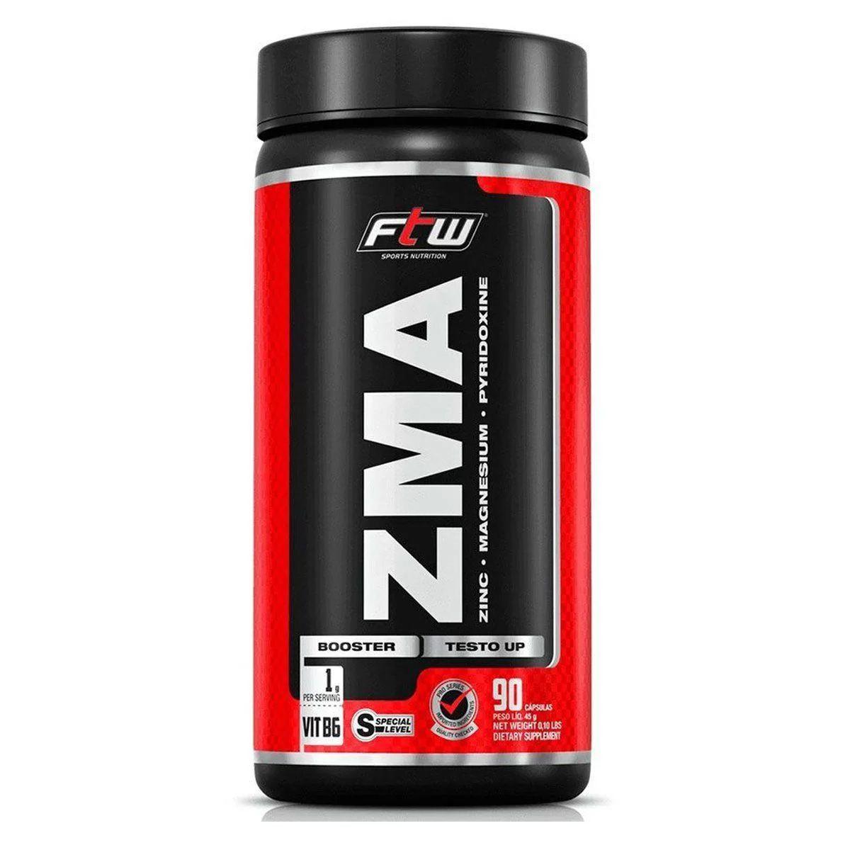 ZMA - 90 Cápsulas - FTW