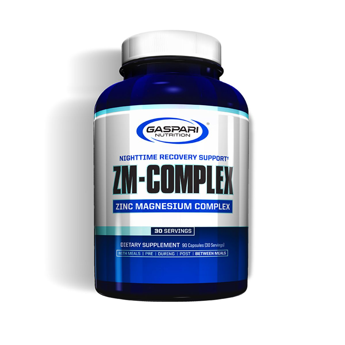 ZMA Complex - 90 Cápsulas - Gaspari Nutrition