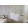 Rede de Dormir Berço infantil para Bebê Branca