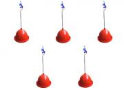 Bebedouro Pendular Profissional 5 peças para aves de alto impacto
