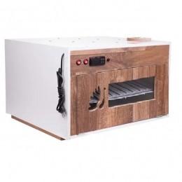 "Chocadeira ALTA PERFORMANCE Premium (220 OVOS) PID ""4 ventiladores"" Bivolt 110-220 Volts com ovoscópio (PVP 220)"